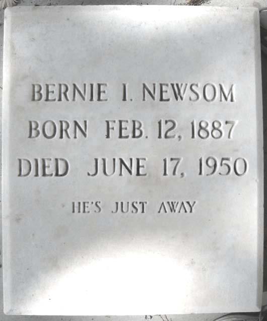 Bernie Irvin Newsom